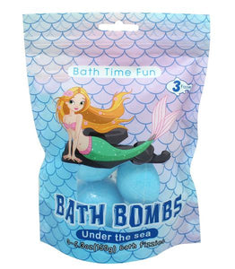 Mermaid Bath Bomb Balls (3 Pack)