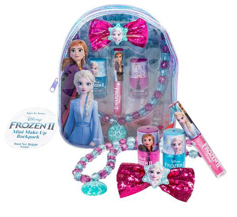 Genuine Licensed Frozen II Makeup & Jewellery Backpack