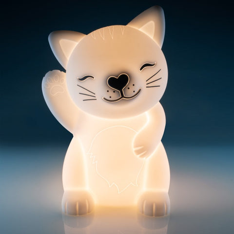 Lil Dreamers Cat Soft Touch LED Light