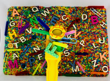 Load image into Gallery viewer, Magnetic Alphabet Sensory Bin