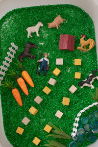 Farm Animals Sensory Rice Kit