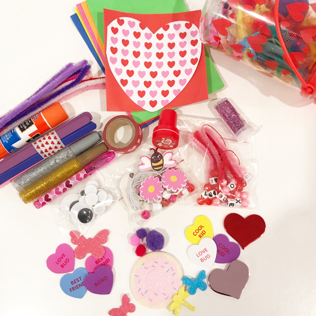 Valentine's Day Craft Jar