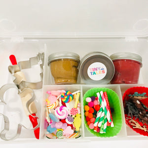 Gingerbread Play Dough Kit