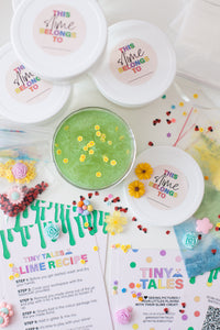 Nature Slime Party Kit (4 pack)