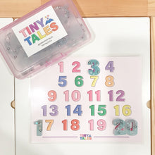 Load image into Gallery viewer, Penguin Alphabet Resin Set