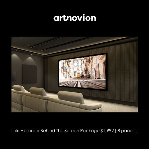 Artnovion Loki Absorber Behind the Screen Acoustic Panels Package