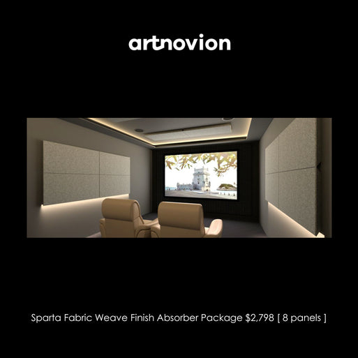 Artnovion Sparta Fabric Weave Finish Absorber Starter Pack
