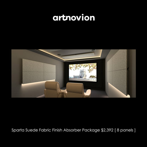 Artnovion Sparta Suede Fabric Finish Absorber Starter Pack