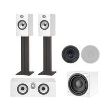 Load image into Gallery viewer, Bowers & Wilkins 607C Theatre Pack