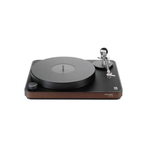 Clearaudio CONCEPT ACTIVE TURNTABLE with SATISFY KARDAN BLACK MC & TONEARM