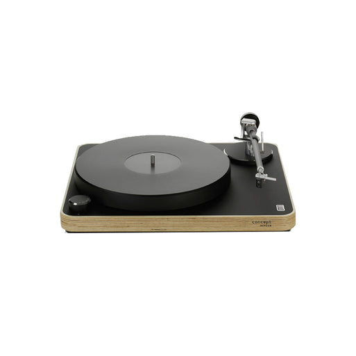 Clearaudio CONCEPT ACTIVE TURNTABLE with SATISFY KARDAN BLACK MM V2 & TONEARM