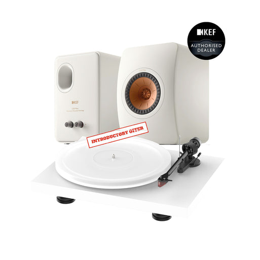 KEF LS50 META + Pro-Ject Debut Evo Acryl Music System
