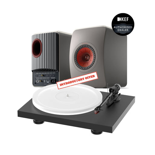 KEF LS50 Wireless MK2 + Pro-Ject Debut Evo Acryl Music System