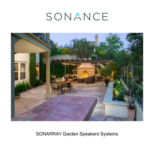 Sonance Sonarray SR1 Garden Speakers System with Amplifier