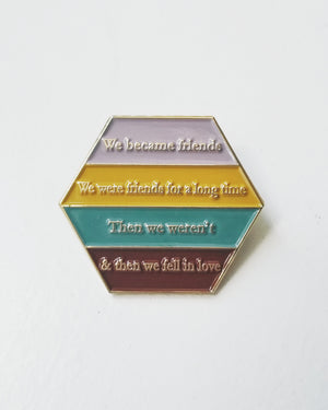 Harry & Sally pin