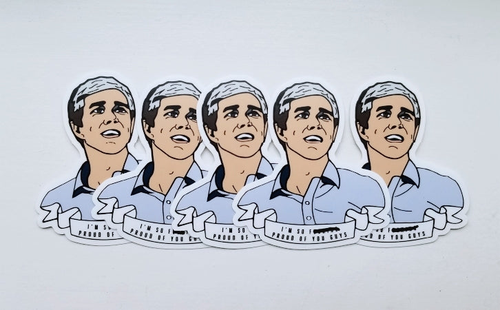 Beto O'Rourke stickers