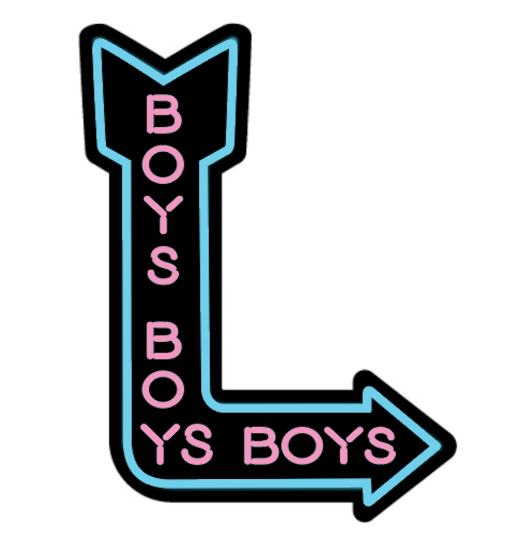 Boys Boys Boys sticker