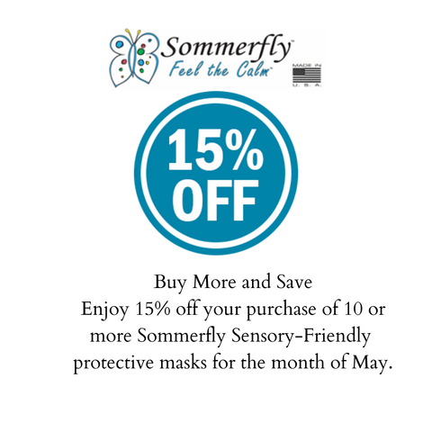 Buy More, Save More in May : Sensory-Friendly Protective Masks