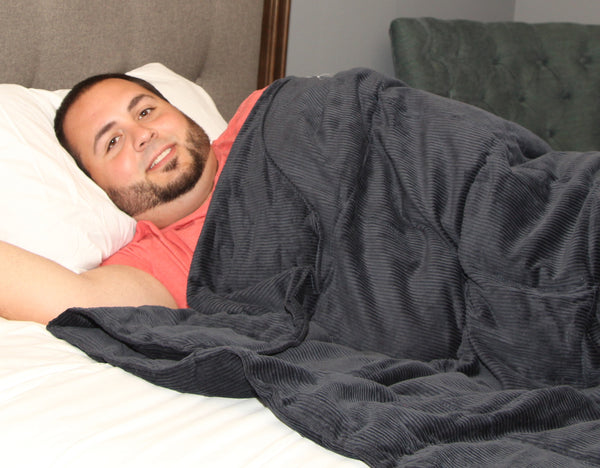 CUSTOM FABRIC OPTIONS ARE TEMPORARILY UNAVAILABLE.                           Sleep Tight™ Weighted Blanket - Custom Fabrics