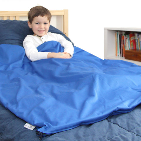 CUSTOM FABRIC OPTIONS ARE TEMPORARILY UNAVAILABLE.  Sleep Tight™ Weighted Blanket COVER - Custom Fabrics