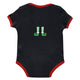 Boys black and red christmas tree onesie - Wimziy&Co.