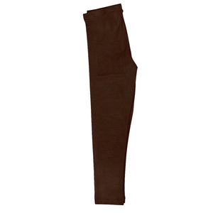 Girls brown  leggings with name - Wimziy&Co.