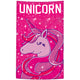 Unicorn Name Pink Towel - Wimziy&Co.