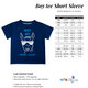 Bus Name Navy Short Sleeve Tee Shirt - Wimziy&Co.