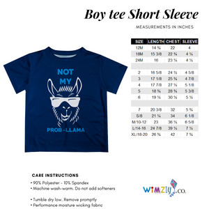 Planes White Royal Short Sleeve Boys Tee Shirt