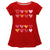 Hearts Name Red Short Sleeve Laurie Top - Wimziy&Co.