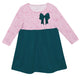 Girls green and pink dress - Wimziy&Co.