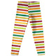Girls multic striped leggings - Wimziy&Co.