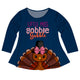 Little Miss Gobble Gobble Long Sleeve Laurie Top