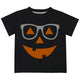 Jack O Lantern Black Short Sleeve Tee Shirt