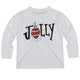 Boys white jolly tee shirt - Wimziy&Co.