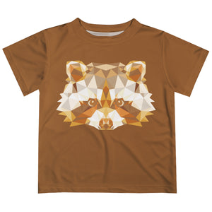 Boys brown woodland tee shirt - Wimziy&Co.