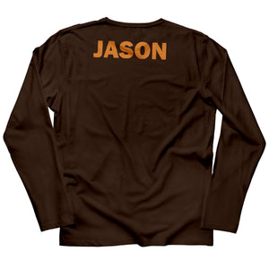 Boys brown thanksgiving tee shirt with name - Wimziy&Co.