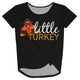 Little Turkey Black Knot Top
