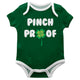 Pinch Proof Green Short Sleeve Onesie - Wimziy&Co.