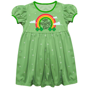 Happy Patricks Day Green Short Sleeve Epic Dress - Wimziy&Co.