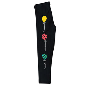 Black leggings with balloons and monogram - Wimziy&Co.
