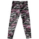 Gray and pink camo heather girls leggings - Wimziy&Co.
