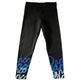 Black and blue dance leggings - Wimziy&Co.
