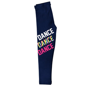 Dance Navy Leggings - Wimziy&Co.