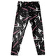 Black and pink  gymnasts girls leggings with name - Wimziy&Co.