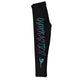 Black and aqua gymnastics girls leggings - Wimziy&Co.