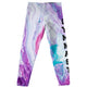 Marble white and pink gymnast girls leggings - Wimziy&Co.