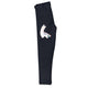 Black and white llama girls leggings with monogram - Wimziy&Co.