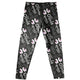 Black and white llamas girls leggings with name - Wimziy&Co.