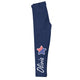 Stars Name Navy Leggings - Wimziy&Co.